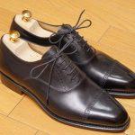 【革靴】初めての本格革靴選び!フウガシンの内羽根セミブローグを買った話