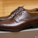 【革靴】圧倒的なきれいさ!RENDOのダークブラウンのプレーントウダービーを買いました!